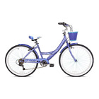 "Cruiser Bike Shimano 26"" Women's Kent Bayside 7 Speed Purple Bicycle w/Fenders"