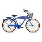 "Cruiser Bike 26"" Mens Margaritaville Multi Speed Blue Shimano 7 Speed Sport Ride"