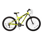 """Mountain Bike 27.5"""" Mens 3.0 Carnage Mid Fat Plus Tire Volt Yellow Sport Bicycle"""