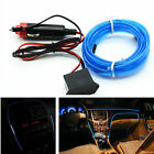 Car Suv 6.5ft Panel Gap Neon Lamp Strip Atmosphere Interior Trim Blue Cold light