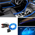 6.5Ft Blue Cold light lamp Neon Lamp Strip EL Wire Car Interior Atmosphere Decor