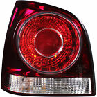 Rear Position Lamps Tail Lights Left Clear Red VW POLO 9N3 Year 05-09