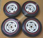 Original Firestone Redline Tires on 1968 Corvette Rally AG Wheels 68
