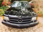 1989 Mercedes-Benz SEC  560  1989  Mercedes-Benz   560 SEC    2 doors  Black    Collectible