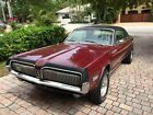 1968 Mercury Cougar COUPE HARD TOP HOT '68 Cougar - Dark Red w Black Hard Top // CLASSIC MUSCLE CAR - Like Mustang