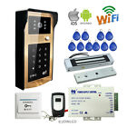 RFID Code/Keypad Wireless WiFi Video Intercom Door Phone Doorbell Free Shipping