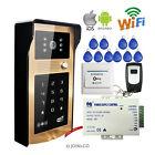 WiFi IOS Android Phone Video Door Phone Kit Outdoor Doorbell Touch Keypad Camera
