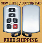 NEW OEM TOYOTA SIENNA SMART KEYLESS REMOTE PROXIMITY FOB REPLACEMENT CASE SHELL