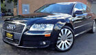 2006 Audi A8 black AUDI A8 BLACK W/AMARETTO LEATHER INTERIOR - BEST OF THE BEST - LOW, LOW MILES