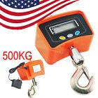 500 KG/ lbs Digital Crane Scale Heavy Duty Industrial Hanging  Crane Scale