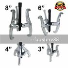 "4PC 3 Jaw Gear Puller Set Bearing Puller Auto Mechanic Gear 3"" 4"" 6"" 8"" Pulley B"