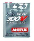 """Motul 300V New Ester Core 5W30 """"Power Racing"""" Oil, 2L (2.1 qt.)"""