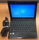 TOSHIBA NB505-N508BN WEBCAM WIFI INTEL ATOM 1.67GHz 2GB 250GB NETBOOK Windows 7!