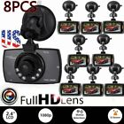 "LOT 1~8X 1080P 2.4"" HD LCD Car Dash Camera Video DVR Cam Recorder Night Vision B"