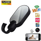 H.264 Wireless HD 1080P WiFi Clothes Hook Camera IP SPY USB Hidden pinhole DVR