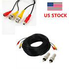 100ft 30m BNC DC Extension Cable for Surveillance CCTV Camera with DVR System