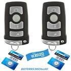 2 For Car Key Fob Keyless Entry Remote 2008 2009 2010 2011 BMW 760Li