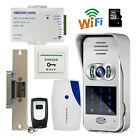 Wireless Wifi Code Keypad Doorbell Video Intercom door phone lock Home Security