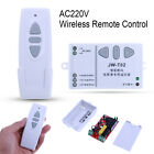 Projection Screen Curtain Wireless Remote Control AC 220V Up Down Switch 433MHZ
