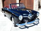 1950 Studebaker Champion Regal Deluxe Bullet Nose Convertible 1950 Studebaker Champion Regal Deluxe Bullet Nose Convertible Low Mile 2nd Owner