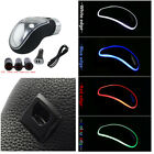 Universal Touch RGB Light Shift Knob Decoration Car Gear Shifter Grip USB Charge