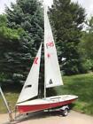 1987 Laser II Sailboat