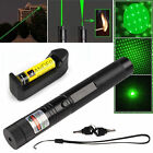 10 Miles Powerful Green Laser Pointer Pen 5mw 532nm Green Laser+Battery+Charger