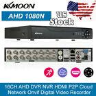 16CH H.264 Full 1080N/720P CCTV Network AHD DVR HVR NVR Security System US K9B7