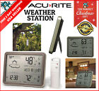 Monochrome Home Weather Forecast Station Temperature Jumbo Display Atomic Clock