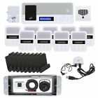 IntraSonic IST I2000 Intercom System Radio Doorbell Optional Bluetooth 9-Room