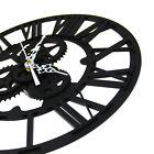 Modern Vintage Steampunk Gear Skeleton Wall Clock Round 30cm Home Decoration
