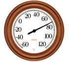 "Springfield 91581 Dial Thermometer 8.5"" Copper Finish"