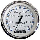 "Faria Chesapeake White SS 4"" Tachometer w/Systemcheck Indicator - (Gas)"
