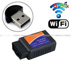 OBDII OBD2 ELM327 WiFi Car Diagnostic Scanner Code Reader for iOS&Android V1.5