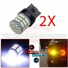 Xenon White 992 T20 6000K 7443 7440 85 SMD 1200LM LED HID Parking Light Bulb 2x