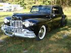 1948 Lincoln Continental 2 Door Convertible 1948 Lincoln Continental Convertible