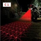 Laser Safety Anti Collision Rear Motorcycle Decorative Fog Light Lamp Universal