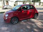 2015 Fiat 500 Red Clear
