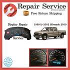 ✅ Display Repair Service   1999½-2002 Chevrolet Silverado 2500   Cluster Refurb