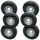 *6* Sailun ST235/85R16 Radial Trailer Tires & Wheels LRG 8-6.5 Silver Mod