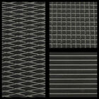 Hydro-Turf In Stock - Sheet Material - Black on Dark Gray Diamond - Ready2Ship