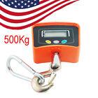 【USA】500 KG /1100 LBS Digital Crane Scale Heavy Duty Industrial Hang Weight