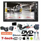"7"" HD 1080P Car DVD GPS Vehicle Audio Video Player USB Bluetooth + Camera LOT R"