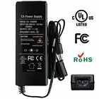 ANVISION AC to DC 12V 5A 60W Power Supply Adapter Plug 3-pins 5.5x2.1mm for L...
