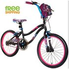 "Black Girl Bike 20"" Tween Child  Sport BMX Style Bicycle New!"