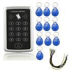 RFID Electric Door Keypad Lock Access Control ID Card Password System w/ 10xTags