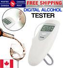 Police Digital Alcohol Breath Tester Analyzer Breathalyzer Breathalyzer LCD Can