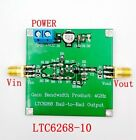 New LTC6268-10 4GHZ Rail-to-rail Output Inverting High-speed Amplifier