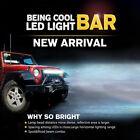 "Partol 44"" 576W 3-Row 6D LED Light Bar Work Light Offroad Driving Led Bar Combo"