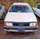 1991 Audi 100  91 Audi 100 2.3L 5 Cyl, 102K original miles, Pearl white, Leather, Wood Grain
